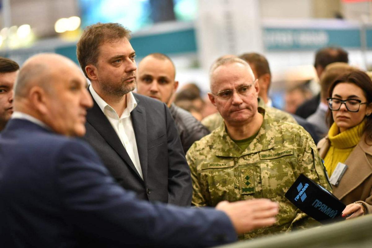 Андрій Загороднюк бере участь у Міжнародній спеціалізованій виставці «Зброя та безпека — 2019»