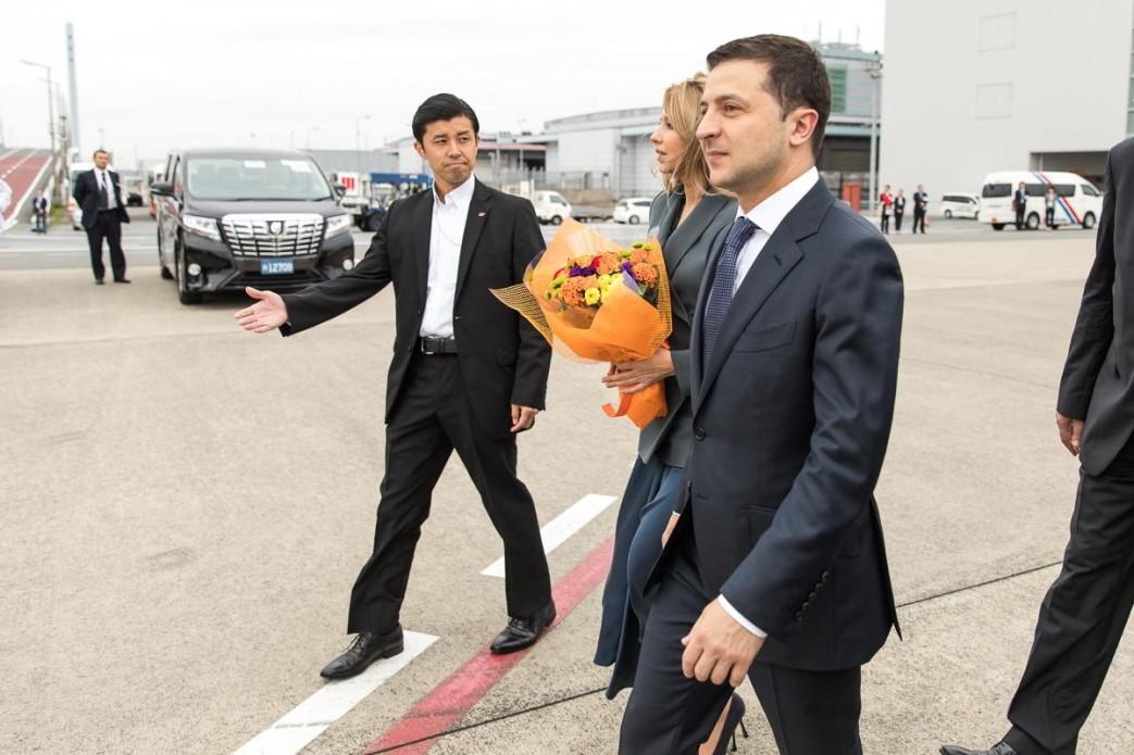 Президент взяв участь у церемонії інтронізації Імператора Японії Нарухіто