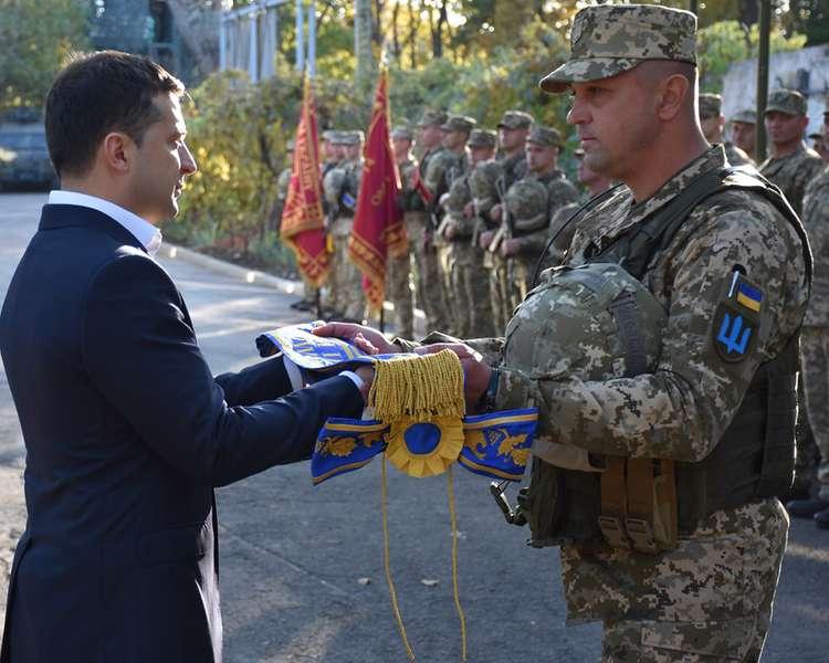 Народжена та загартована в боях 14-та окрема механізована бригада тепер має почесне найменування імені князя Романа Великого