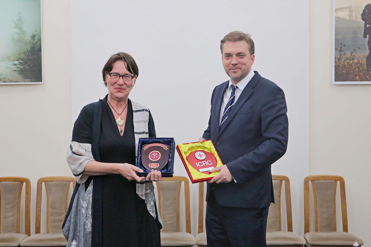 Загороднюк провів зустріч з делегацією Міжнародного Комітету Червоного Хреста в Україні
