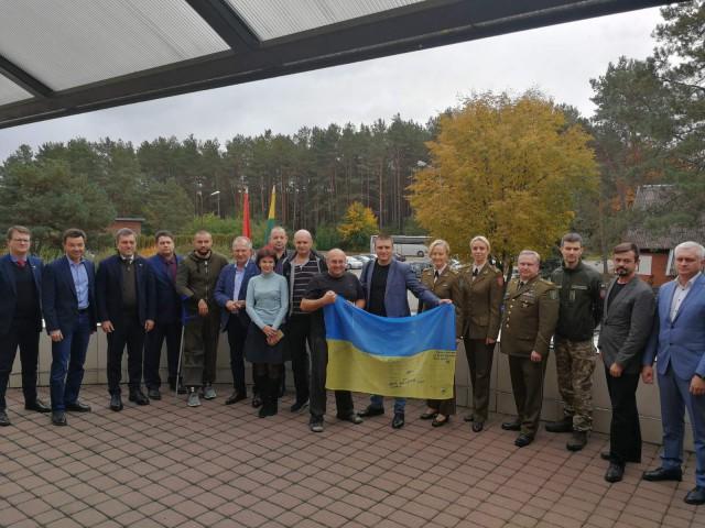 268 українських військових пройшли лікування й реабілітацію у медзакладах Литви