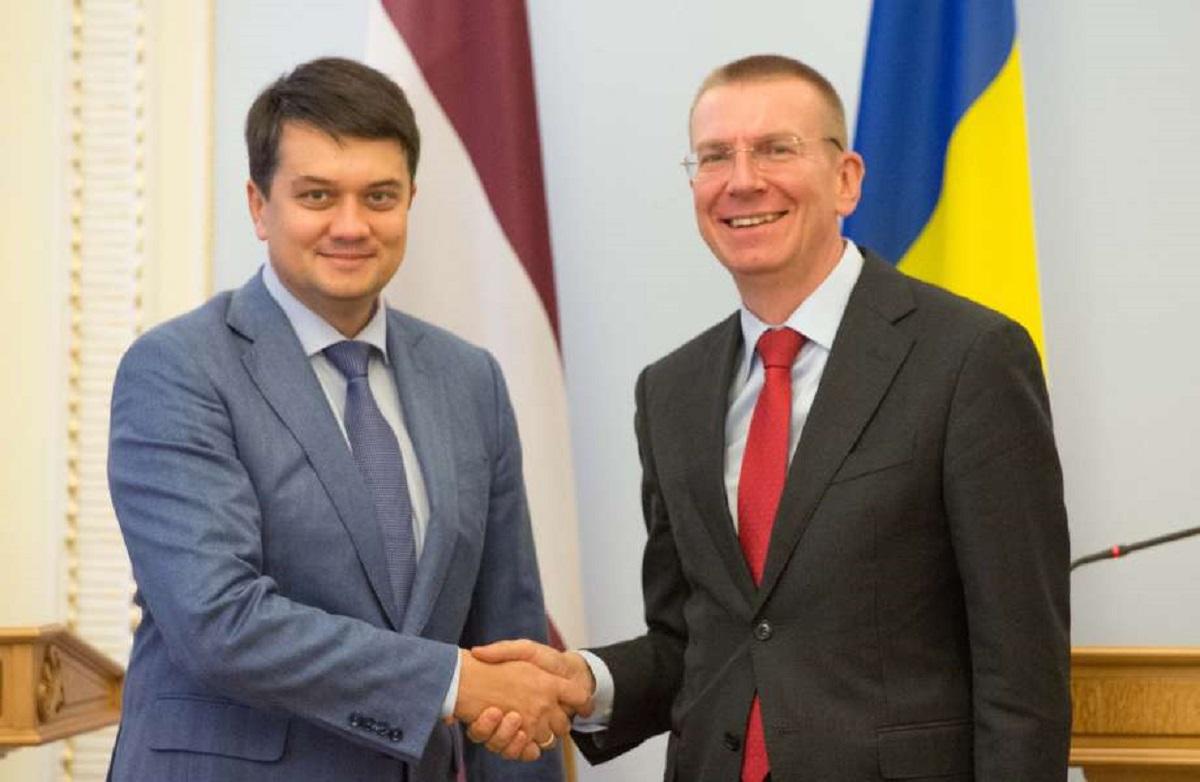Україна цінує підтримку та принципову позицію Латвії у ПАРЄ