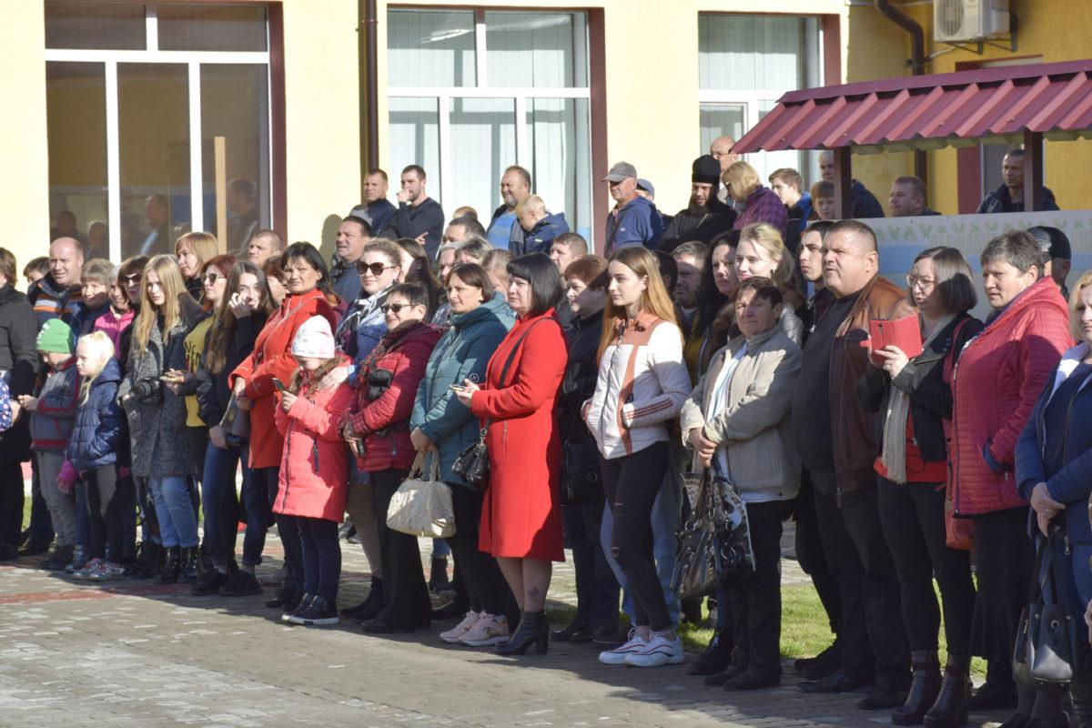 Урочиста клятва ліцеїста звучала на Луганщині