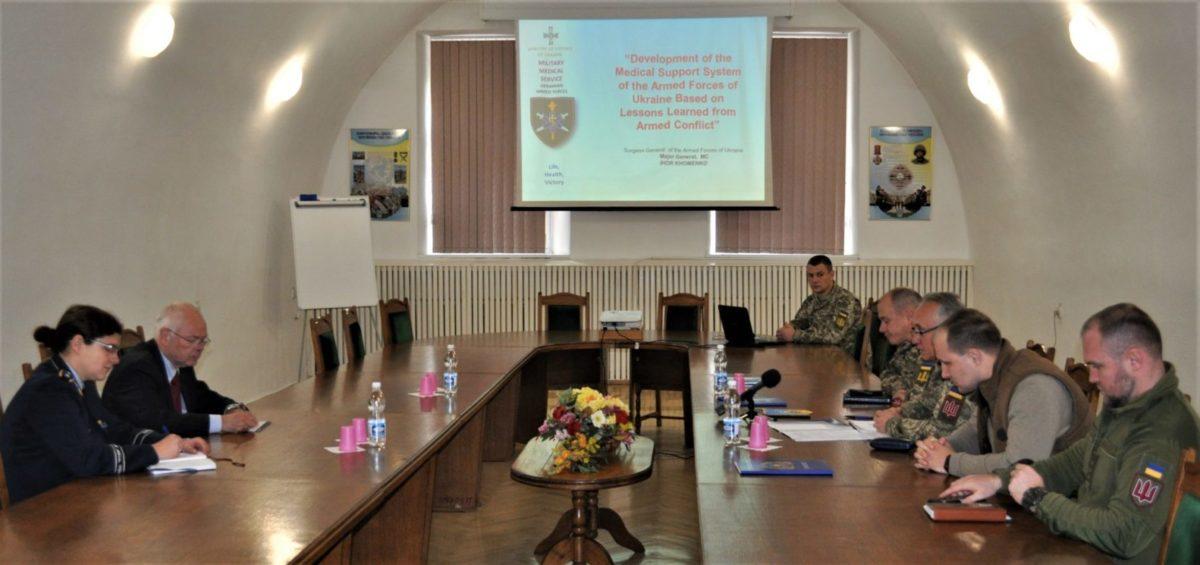 В основі реформування медзабезпечення війська – німецький досвід