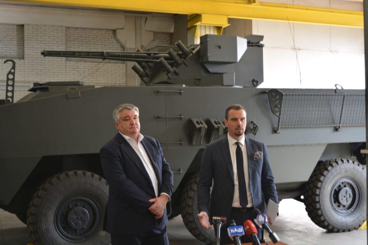 Айварас Абромавичус: «Державно-приватне партнерство в сфері ОПК посилить обороноздатність держави»