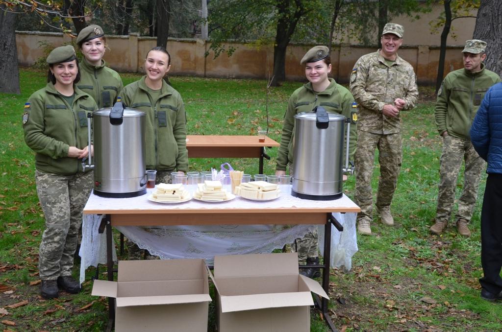 У Військовій академії (м. Одеса) пройшли заходи, присвячені Дню автомобіліста