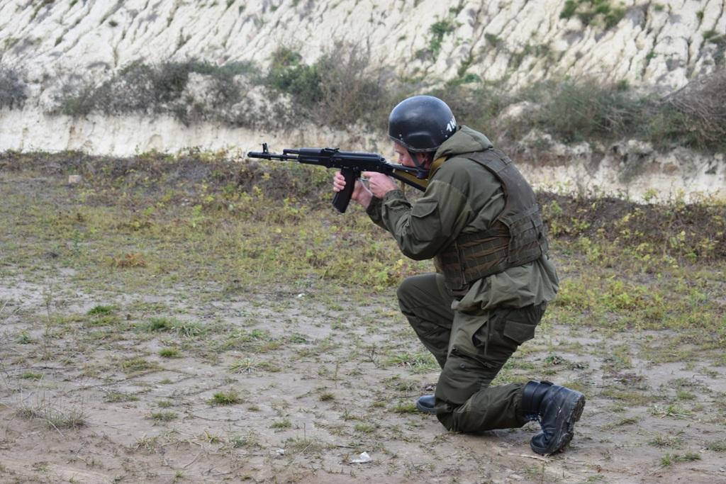 Резервісти Західної України змагалися у тактичній швидкісній стрільбі