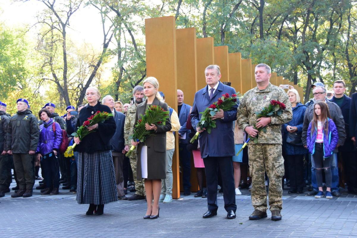 У Харкові відкрили пам'ятник захисникам України