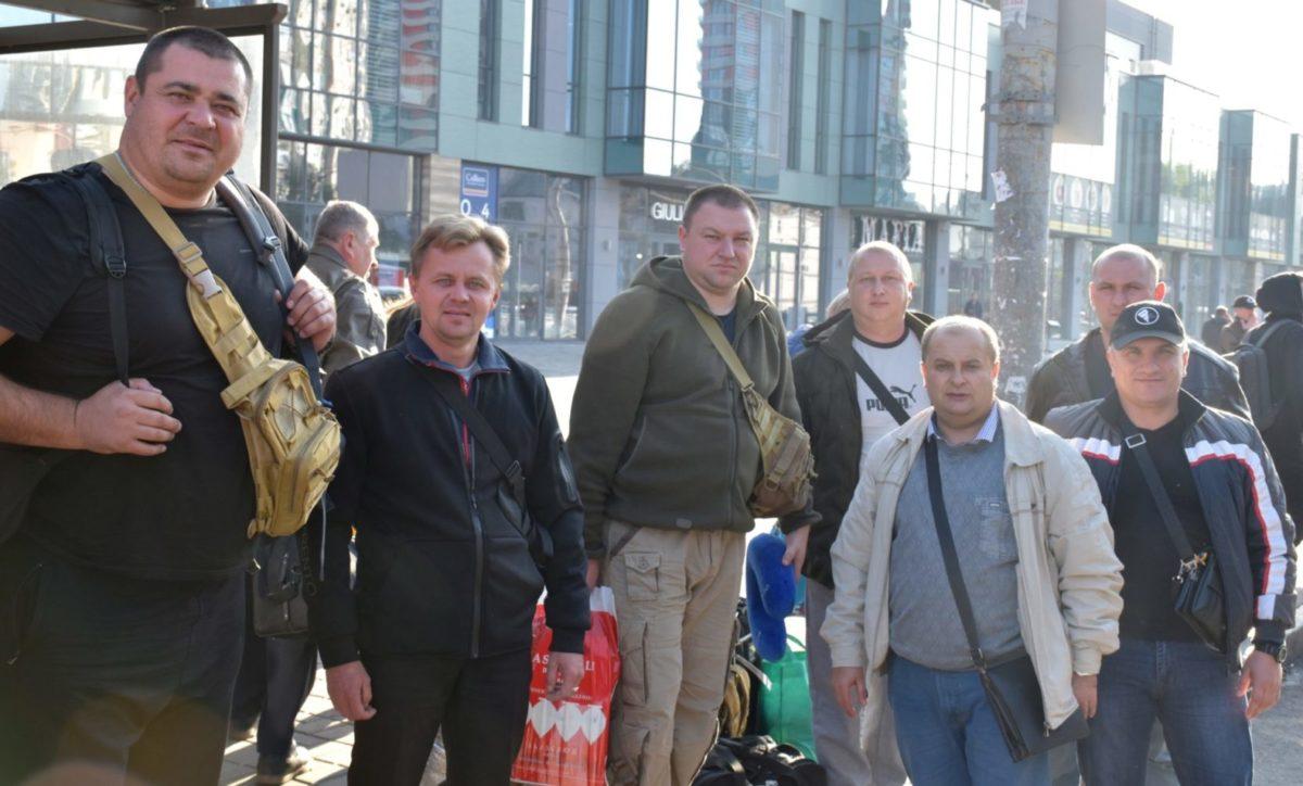 До України після реабілітації в Грузії повернулася група військовослужбовців, які отримали поранення під час АТО та ООС