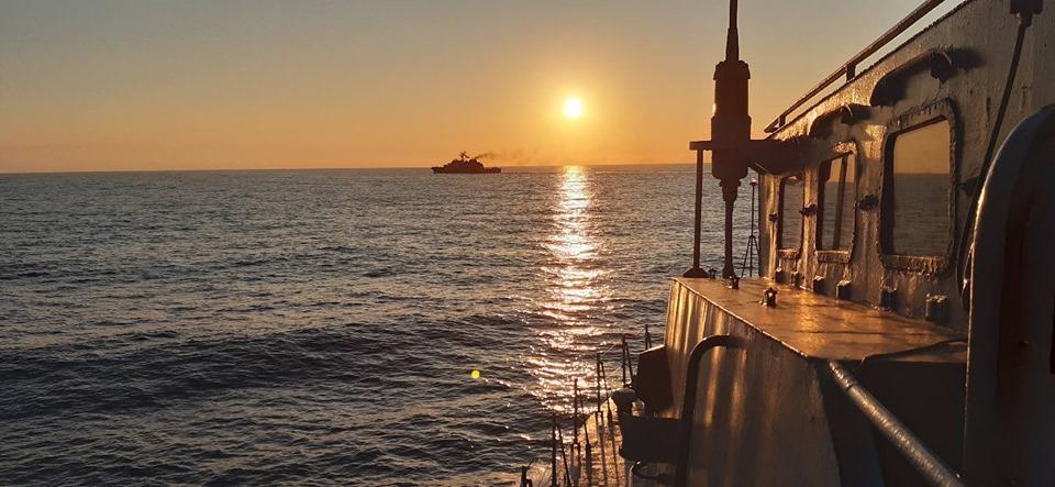 Ракетний катер «Прилуки» атакував есмінець «Портер»
