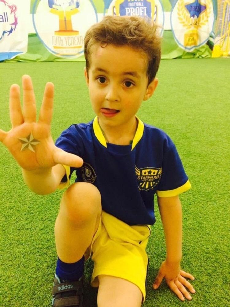 Син Героя України вивів Кріштіану Роналду на матч Україна – Португалія