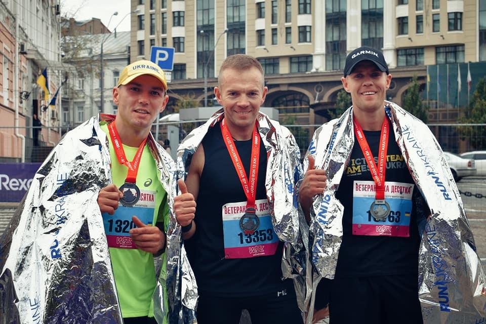 «Ветеранська десятка» зібрала понад 300 бігунів
