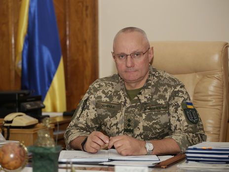 Хомчак назвав пріоритети ЗС України на 2020 рік