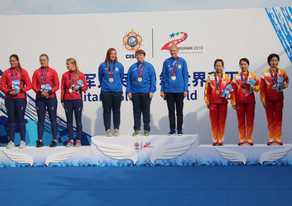 Жіноча збірна зі стрільби з рекордом виграла Всесвітні Ігри серед військовослужбовців