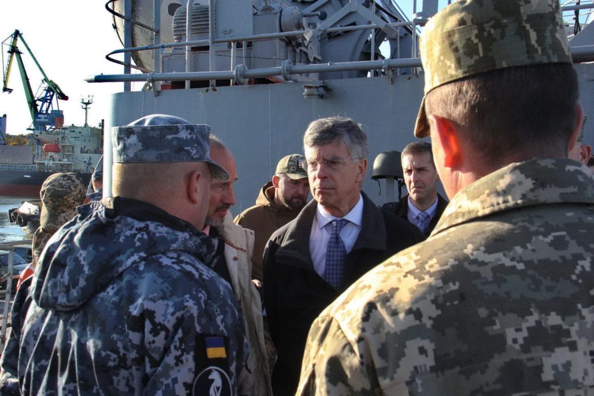 Американські дипломати вивчають безпекову ситуацію в Азовському морі