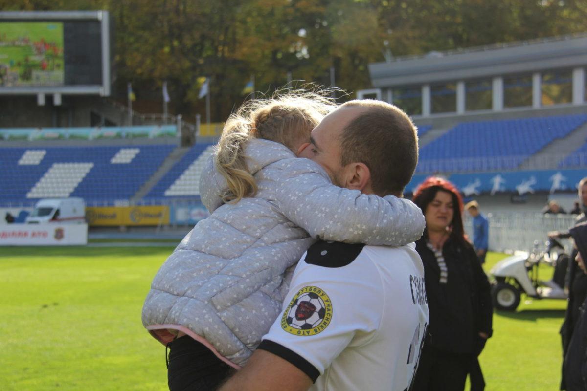 На стадіоні «Динамо» відбувся фінальний матч серед команд Ліги учасників АТО