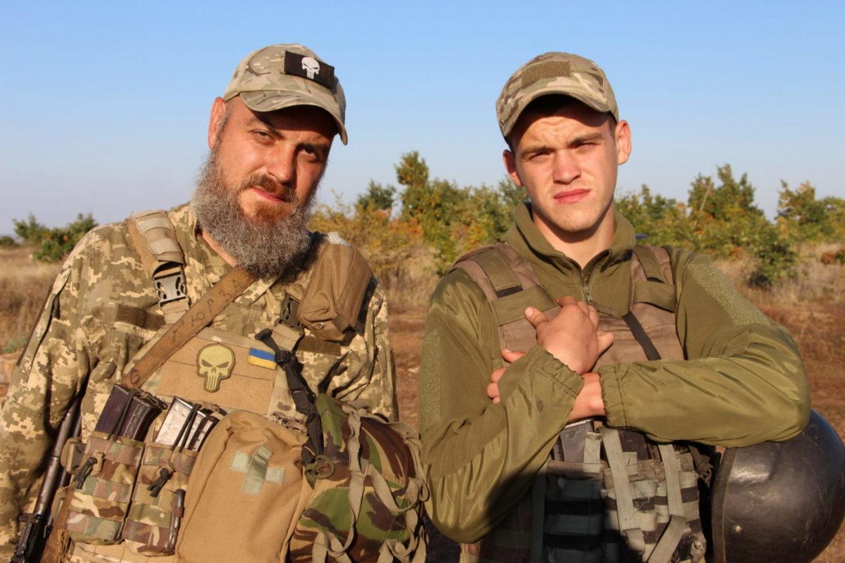 Під Попасною дві родини на одній позиції боронять Україну
