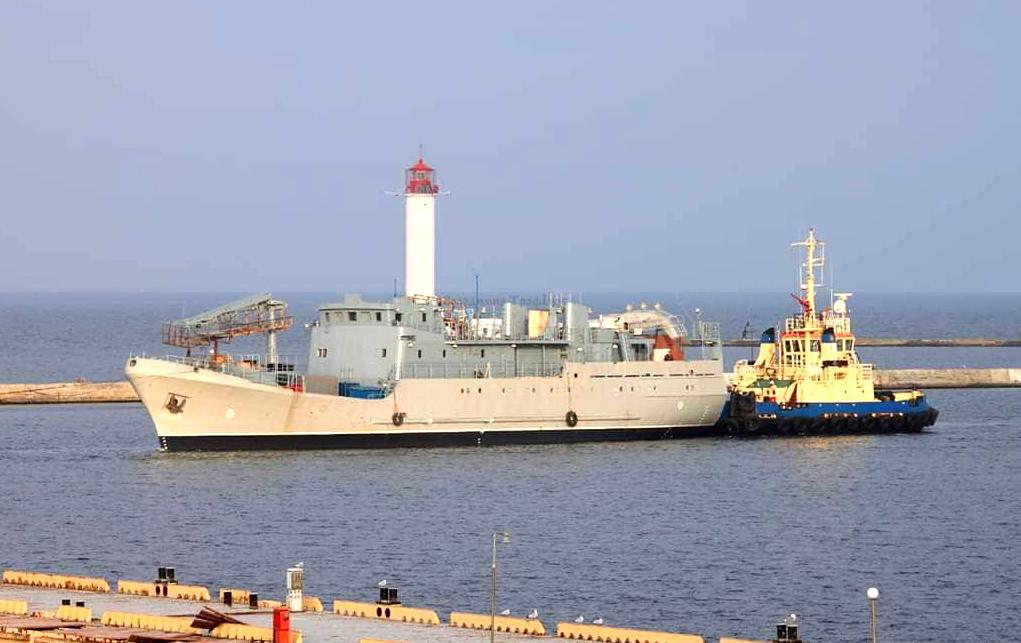 На розвідувальний корабель «Лагуна» встановлять станцію радіотехнічної розвідки «Мельхіор»