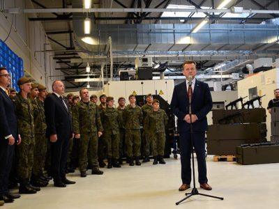 Більше гвинтівок і пістолетів для польської армії
