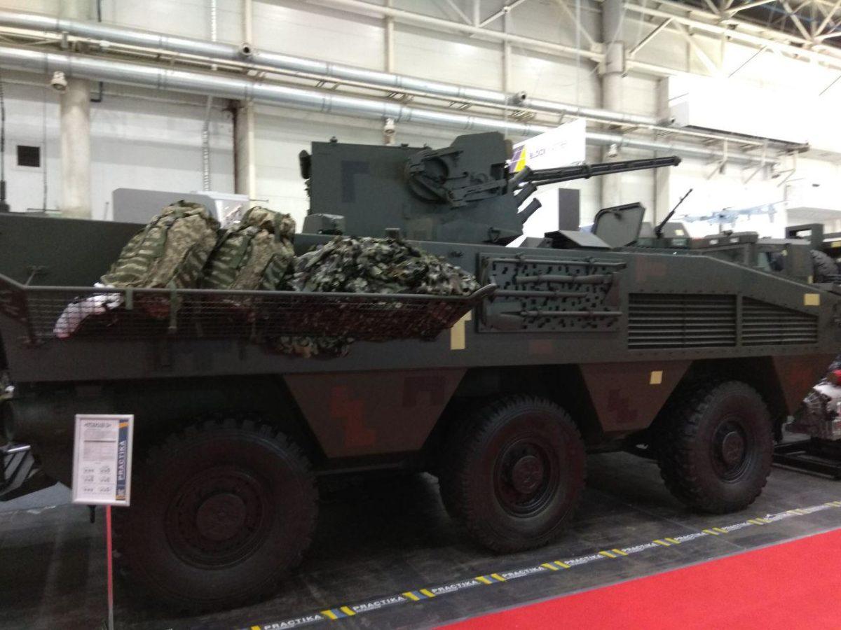 Новий український БТР «Отаман-3» для морпіхів уперше представили на виставці «Зброя і безпека – 2019»