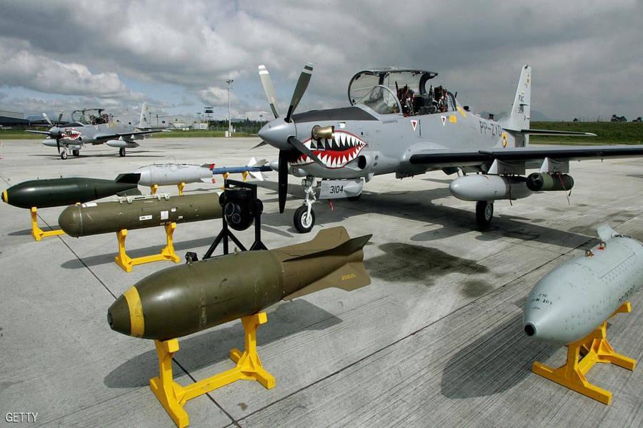 Бразильські літаки Super Tucano, які може закупити Україна