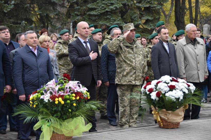 У Краматорську вшанували пам'ять загиблих у Другій світовій війні