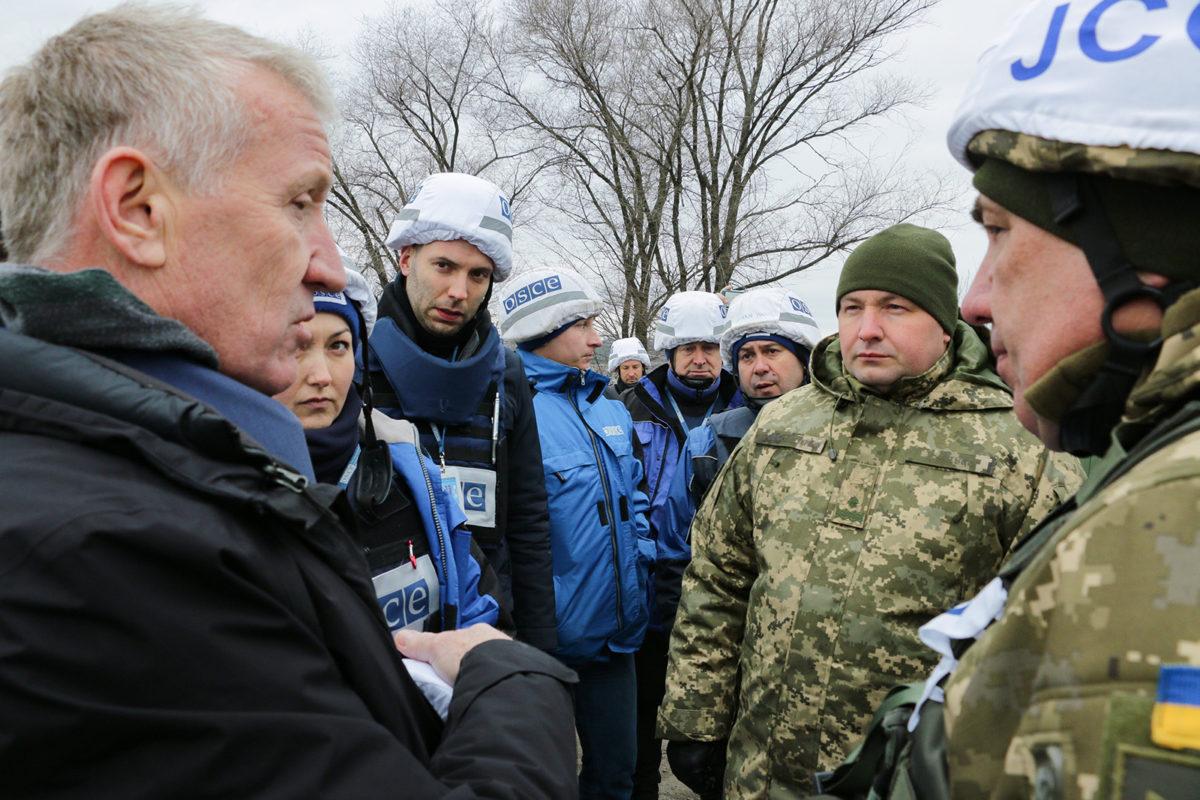 СММ ОБСЄ верифікувала завершення процесу розведення сил і засобів у Золотому