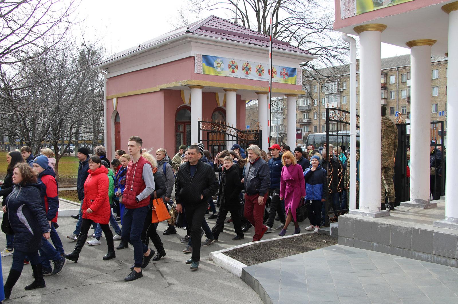 День відкритих дверей у Київському військовому ліцеї імені Івана Богуна