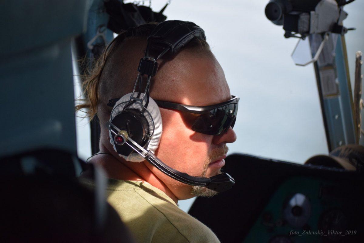Підполковник Олексій Євдокимов, льотчик першого класу: «Наймолодший вертоліт, яким я керував за 24 роки служби, — випущений 1987-го…»