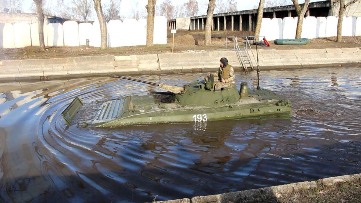 Вода — не перешкода для піхоти