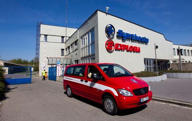 У Чехії стався вибух на заводі боєприпасів