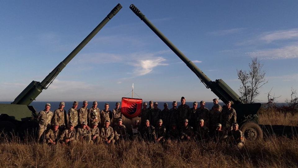 Запорізькі артилеристи запрошують гостей на святкування