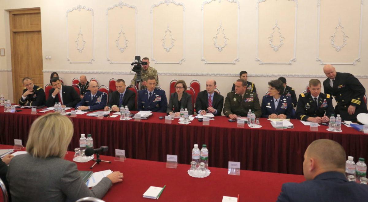 Допомога США дуже важлива у нарощуванні наших військових спроможностей
