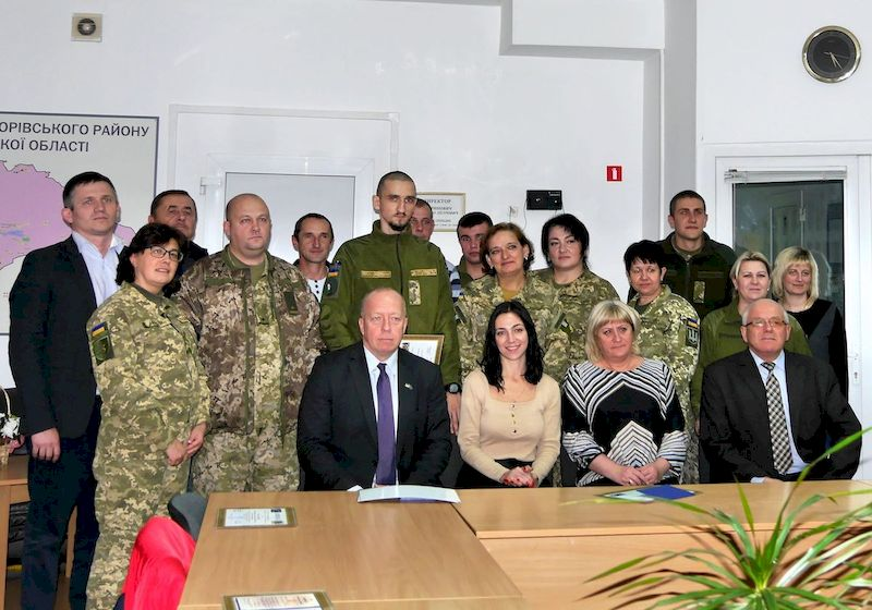 Військові з Львівщини отримали цивільну спеціальність