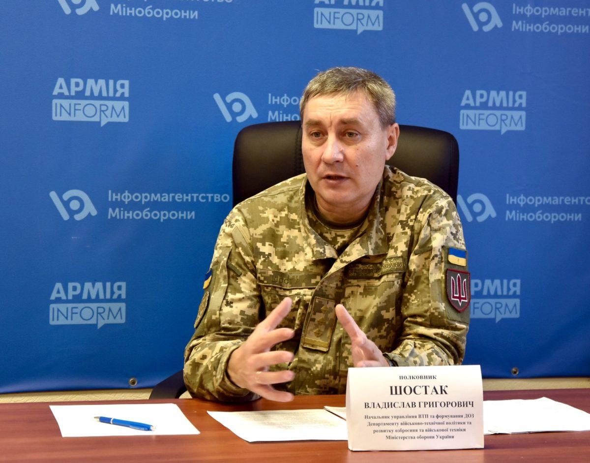 На озброєння війська цього року вже прийнято 33 одиниці зразків ОВТ