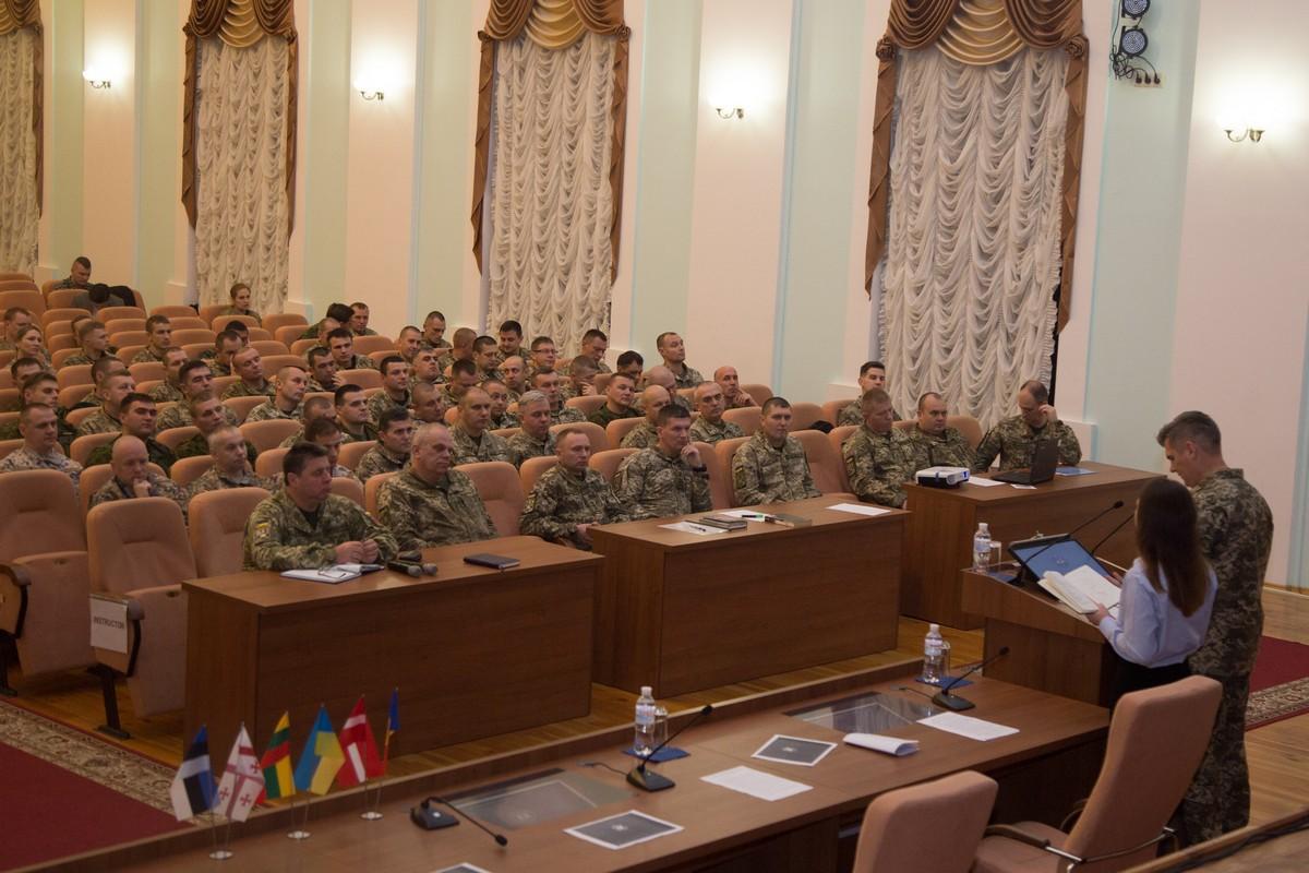 У Національному університеті оборони України розпочалося міжнародне бригадне командно-штабне навчання за стандартами НАТО