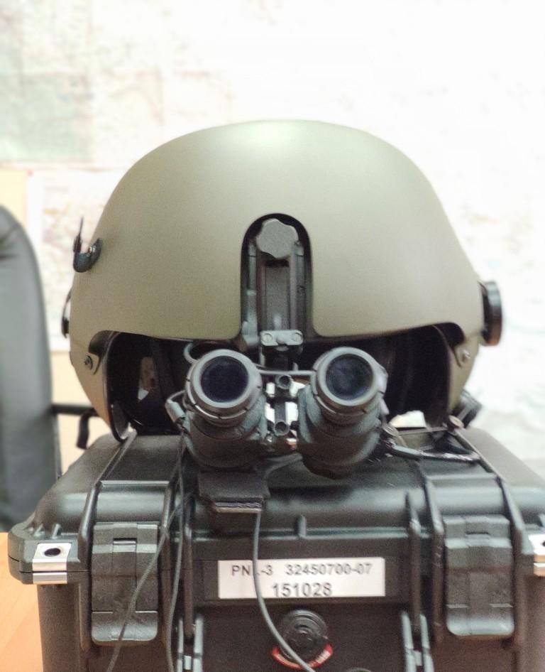 Випробування Мі-2МСБз новітнім ракетним озброєнням, шоломом та окулярами