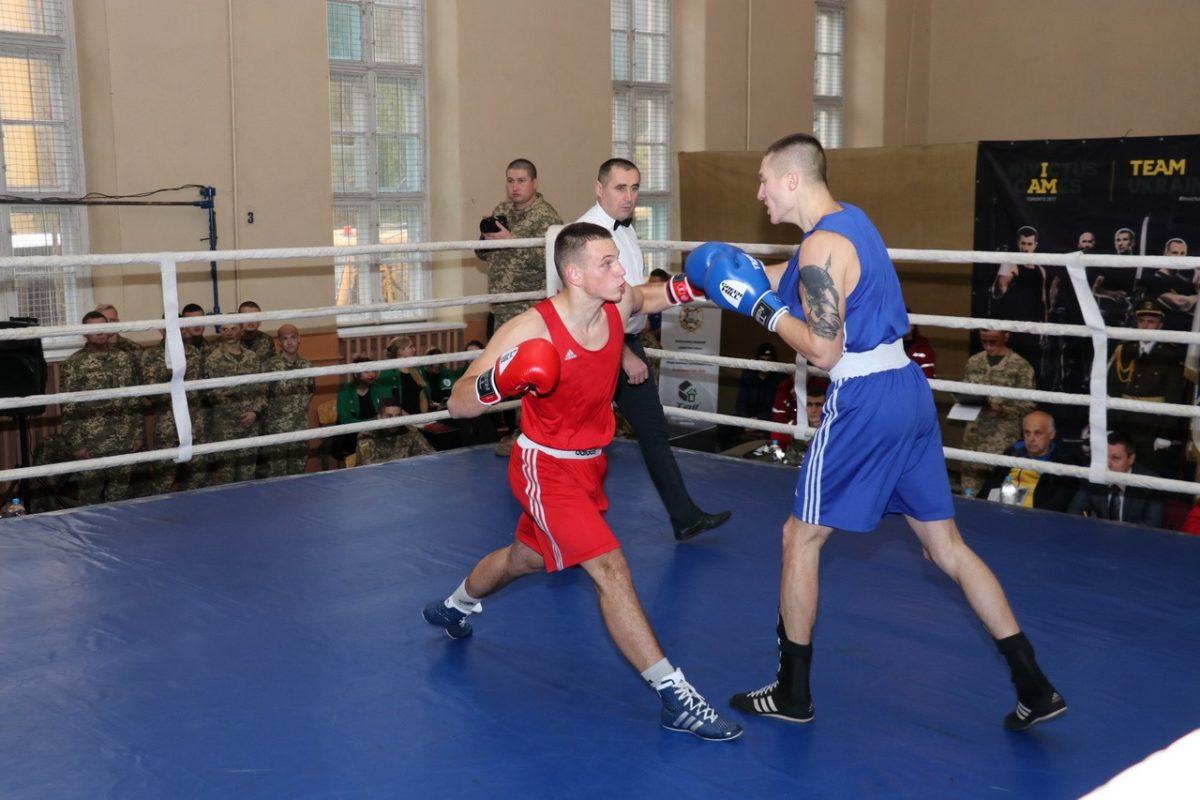 Найсильніші військові боксери ЗС України служать у Сухопутних військах