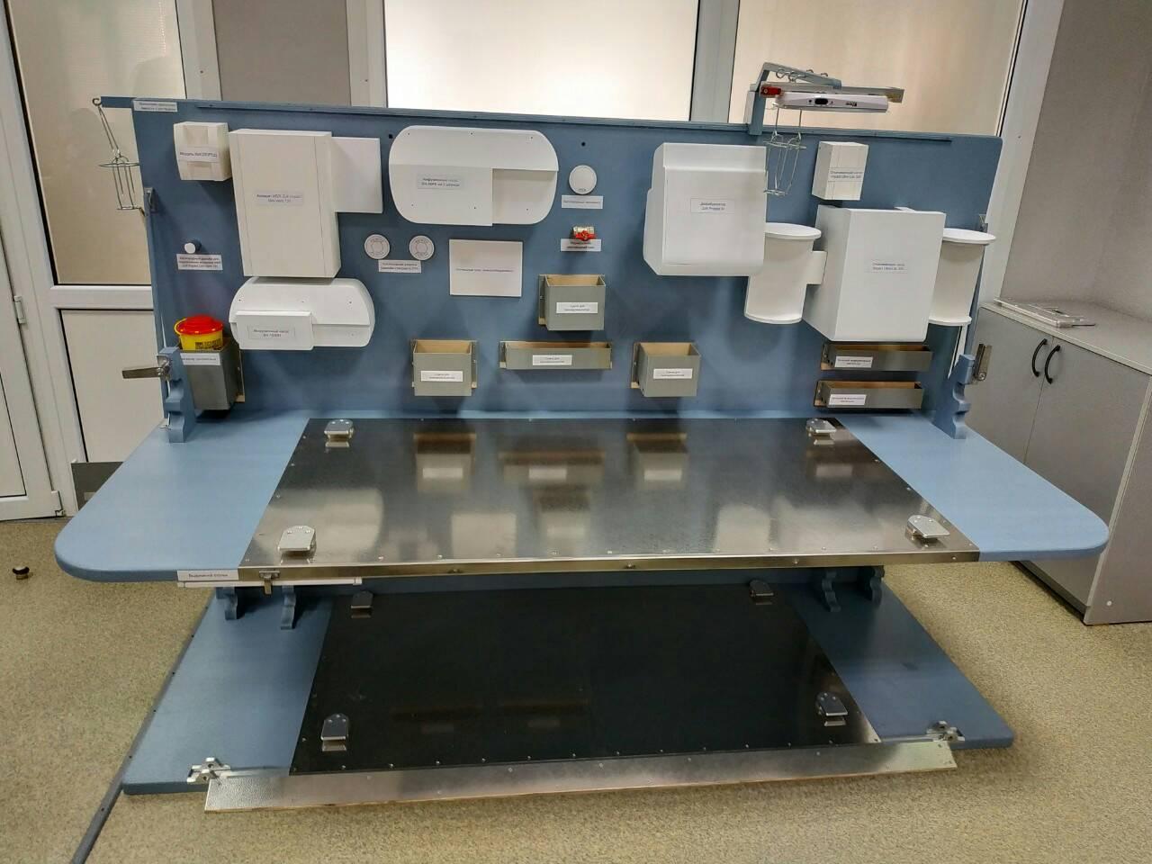 Військові медики розробили автономний медичний евакуаційний модуль