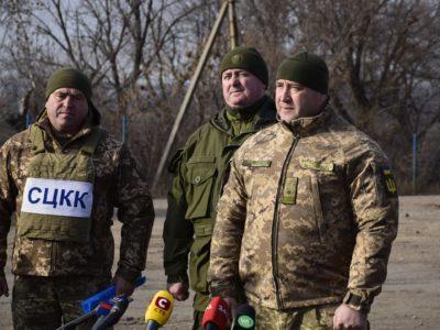 Представники ЗМІ відвідали ділянку розведення №2 поблизу Золотого-4