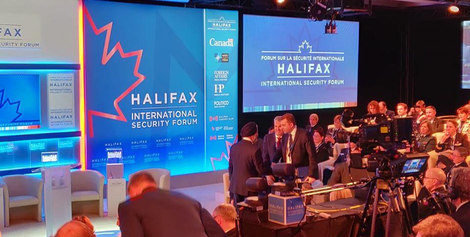 Міністр оборони України бере участь у Міжнародному безпековому форумі в Галіфаксі (Канада)