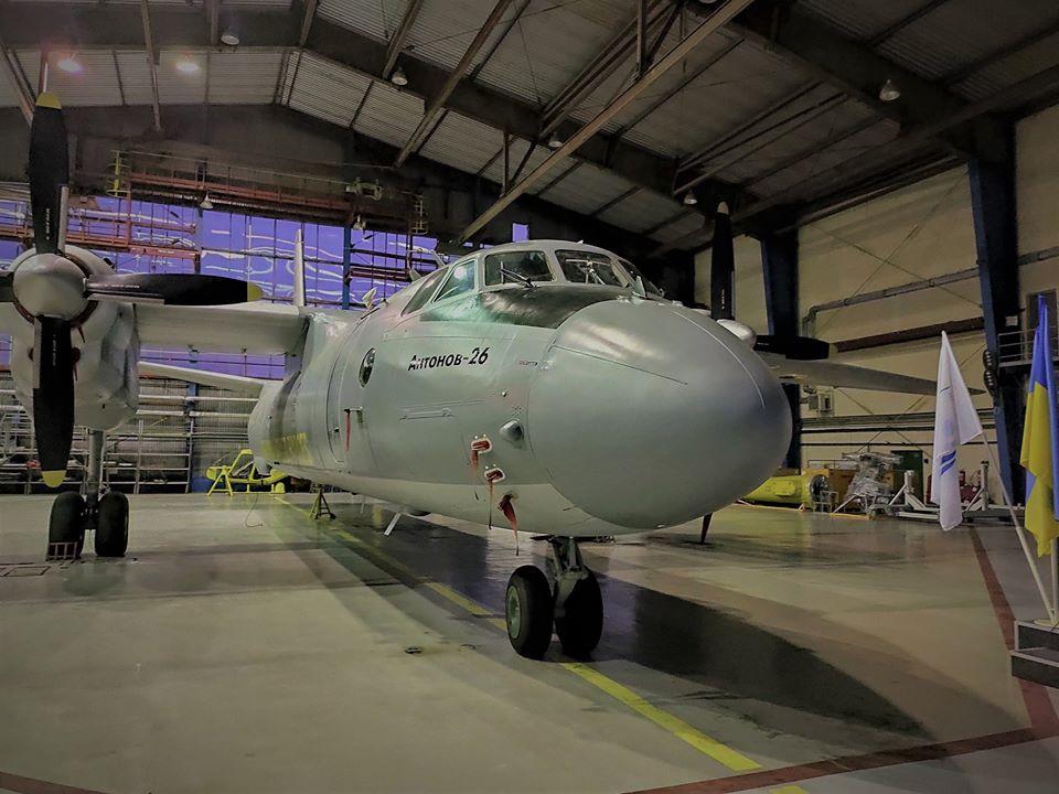 Транспортна авіація отримала черговий відремонтований Ан-26