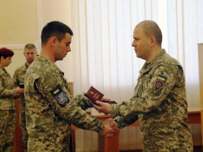 Командувач ДШВ нагородив особовий склад з нагоди професійного свята