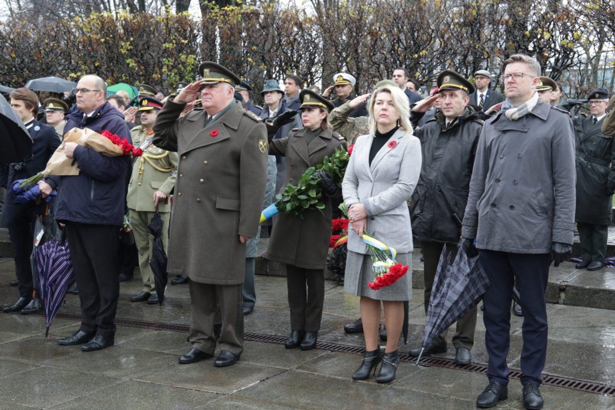 У Києві вшанували пам'ять загиблих у військових конфліктах