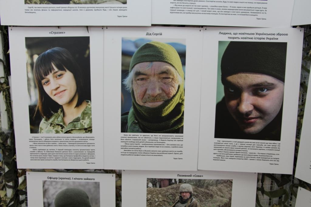 Ветерани АТО розповіли українській діаспорі у Франції правду про війну на Донбасі