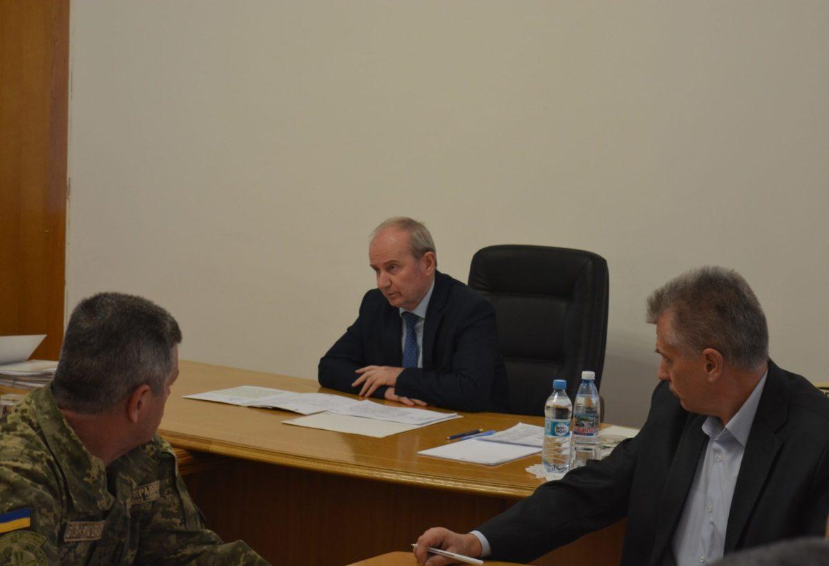 Перший заступник Міністра оборони України Іван Руснак провів прийом громадян з особистих питань