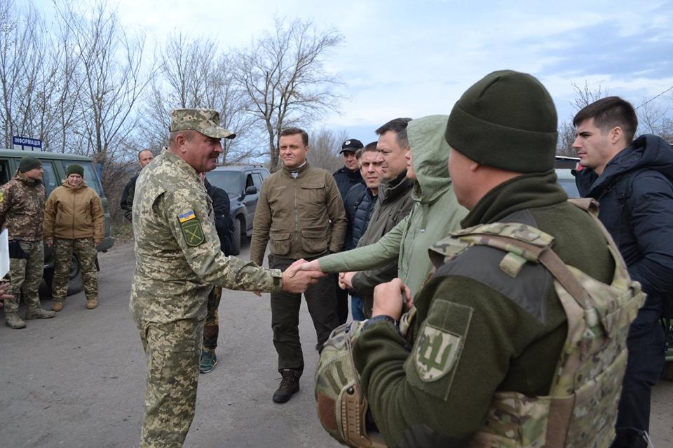 Оборонний комітет Парламенту провів виїзне засідання в Золотому-4