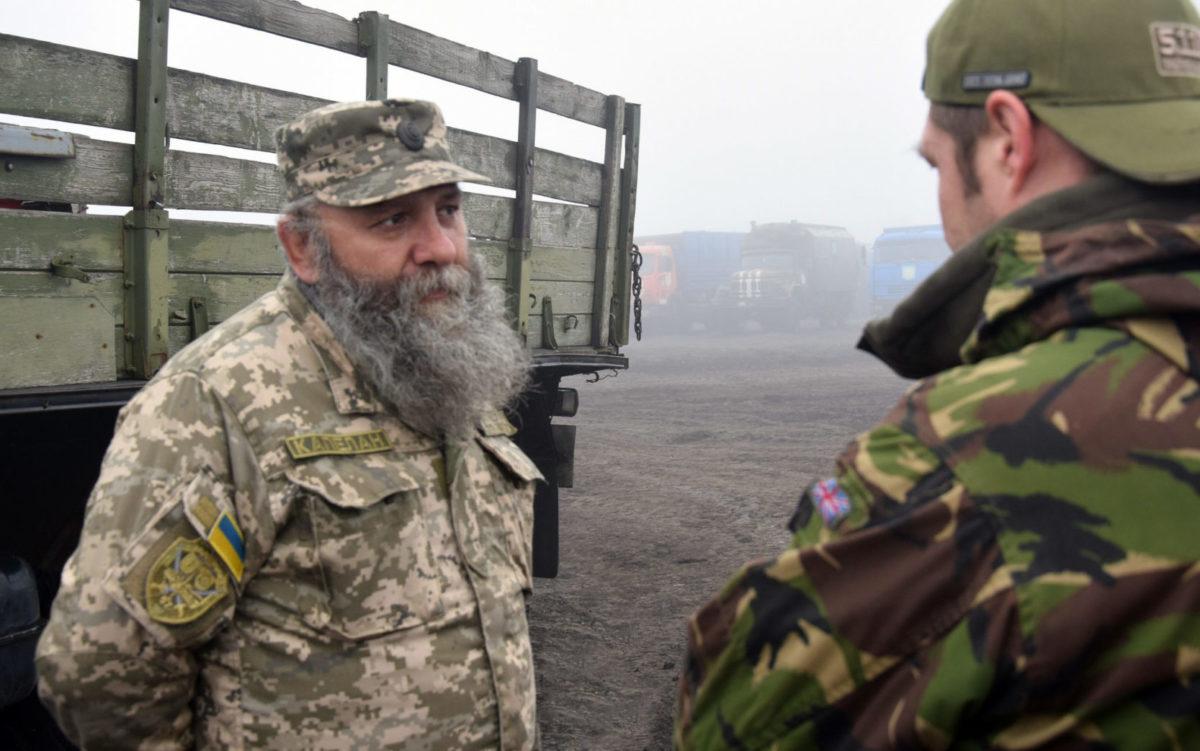 Військовий капелан Ростислав Токар: «Не збираюсь відсиджуватись удома, коли серцем відчуваю, що потрібен людям на війні»