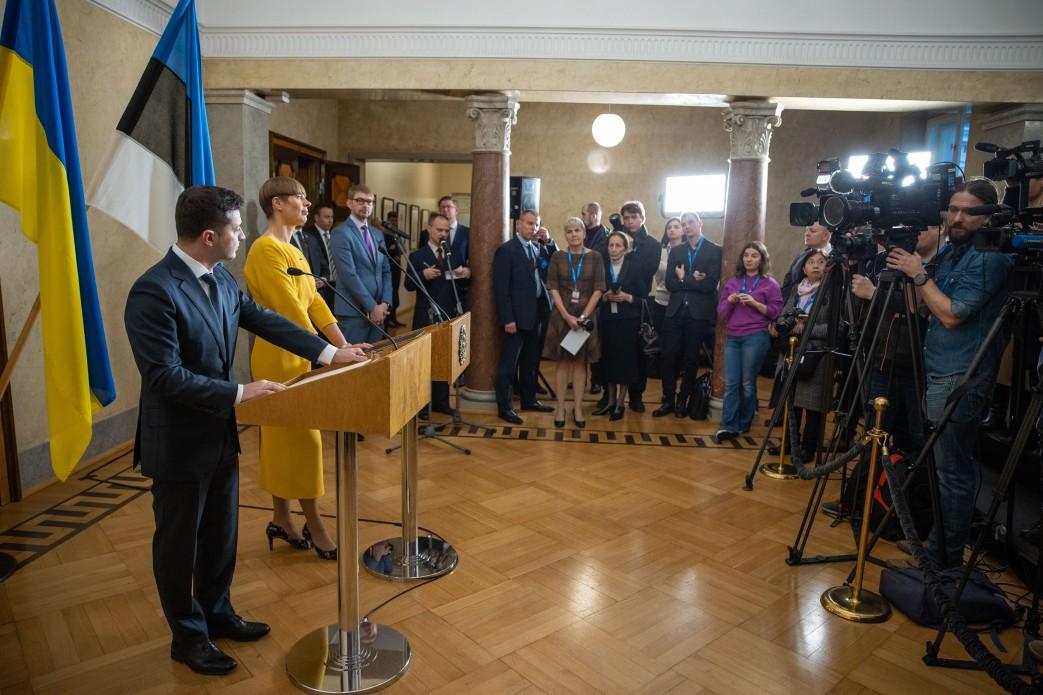 Естонія підтримує рух України в НАТО та ЄС