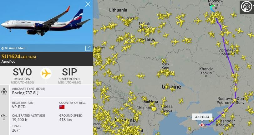 Росія порушила повітряний простір України на 13 млрд грн